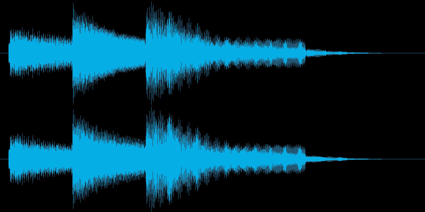 【ジングル】エレピによるラウンジ調の曲の再生済みの波形