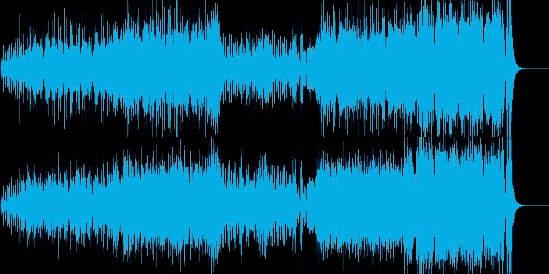 優雅で気品のあるオーケストラワルツの再生済みの波形