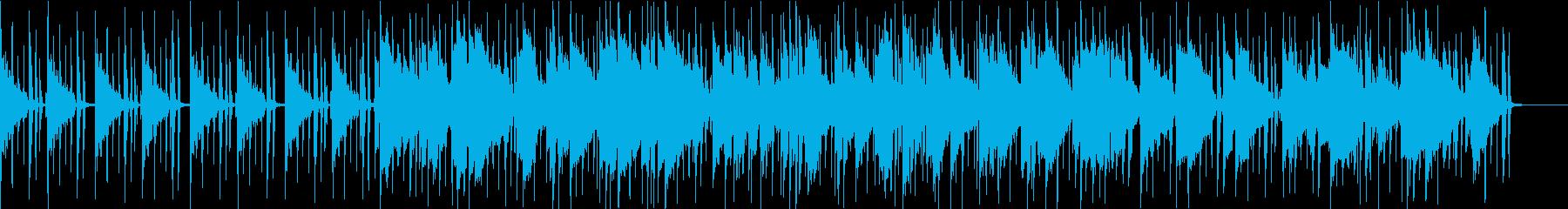 流れるようなR&Bの再生済みの波形