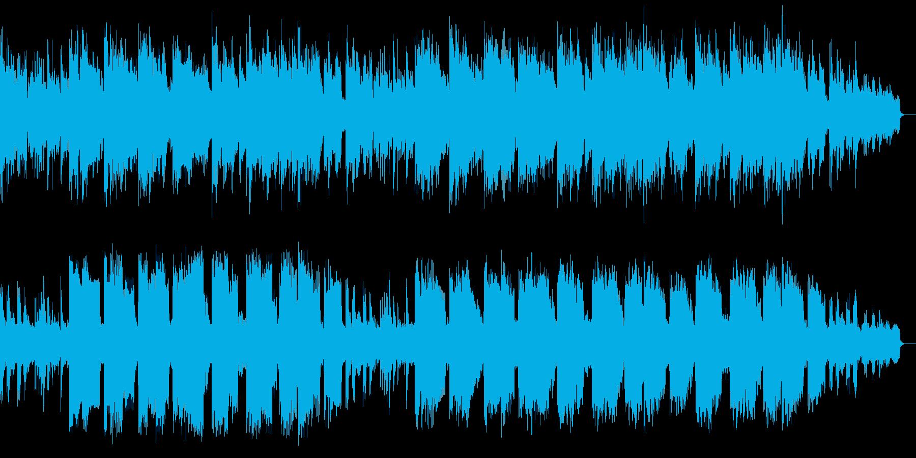ピアノによる大人の優しい子守唄の再生済みの波形