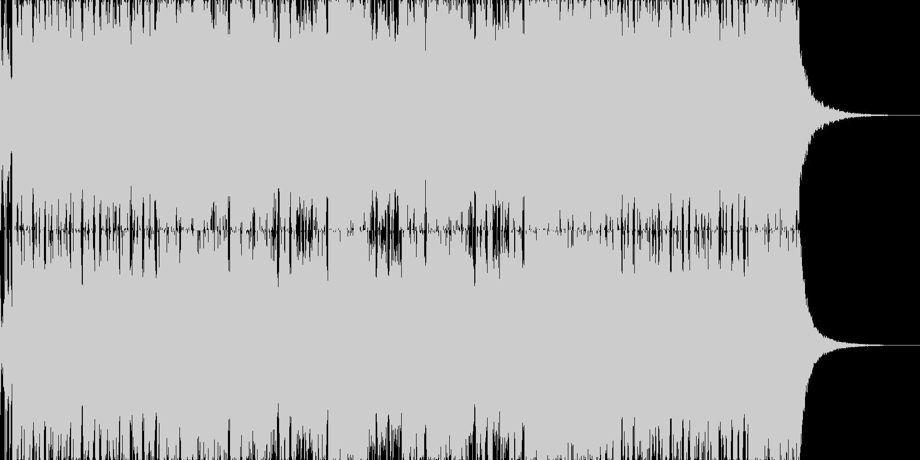 【ロックブルース】コミカルロックブルースの未再生の波形