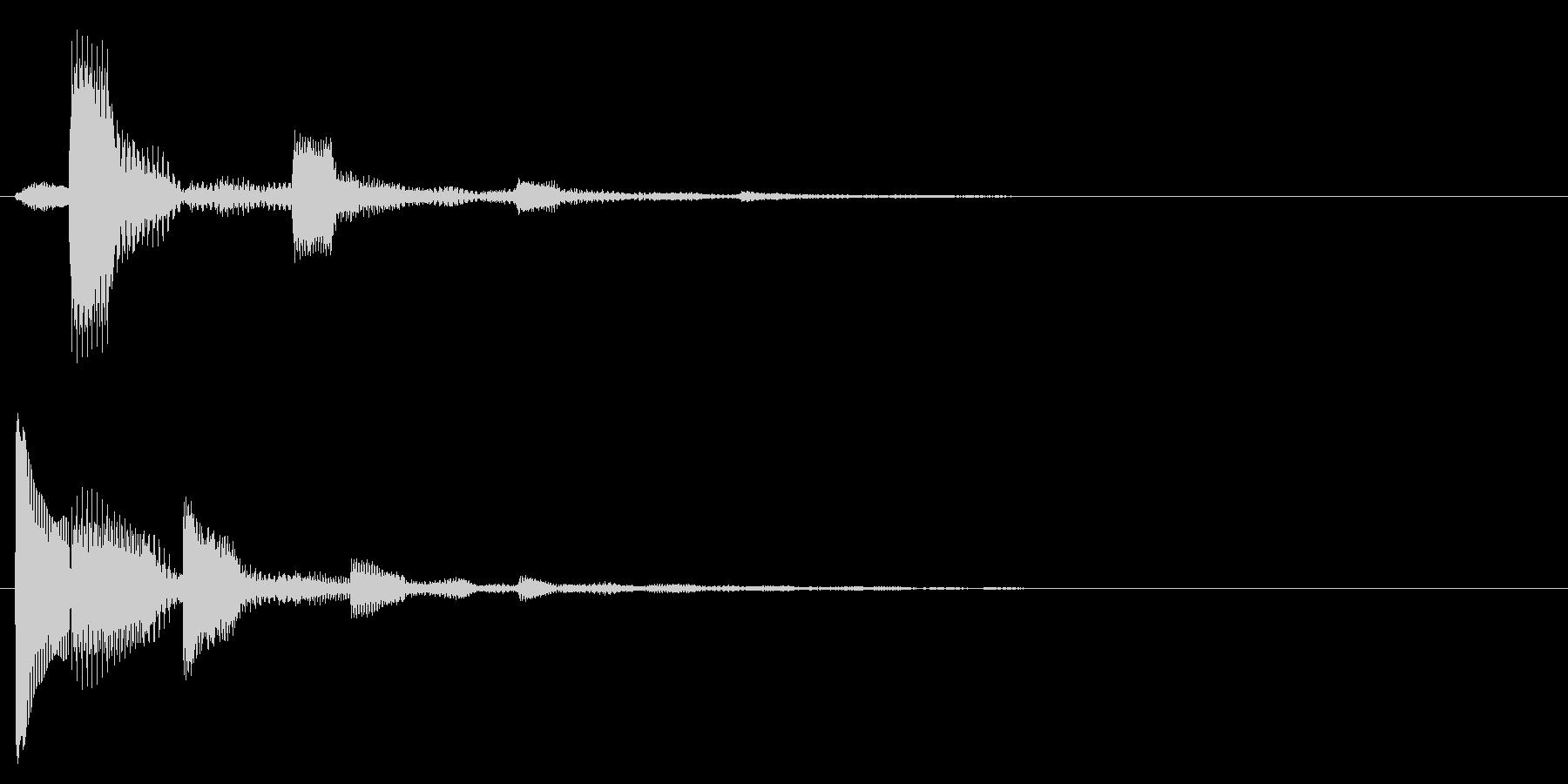 ピコンピンピコン(解説のポイント)の未再生の波形