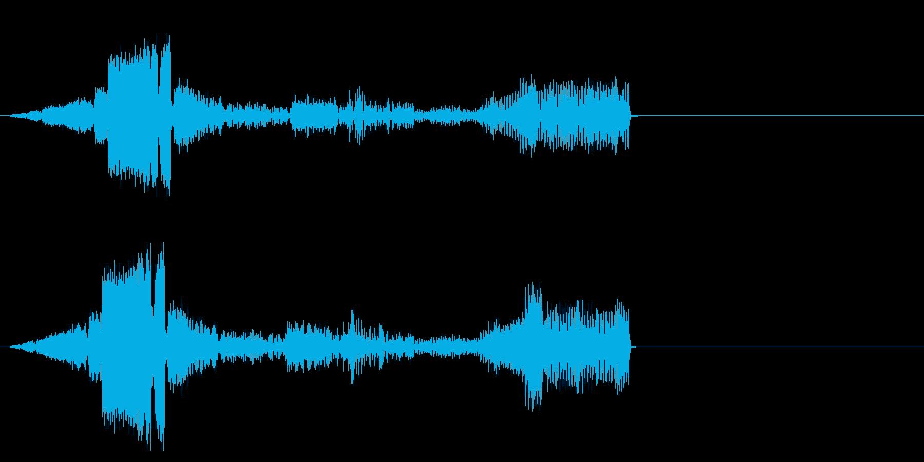 【SE ジングル】SF6の再生済みの波形