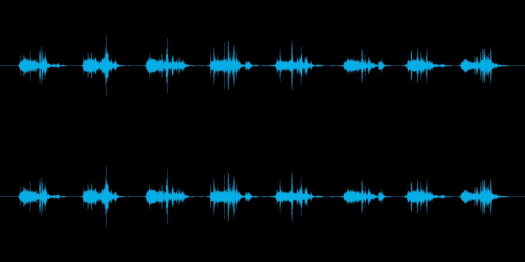 【本01-3(めくる)】の再生済みの波形
