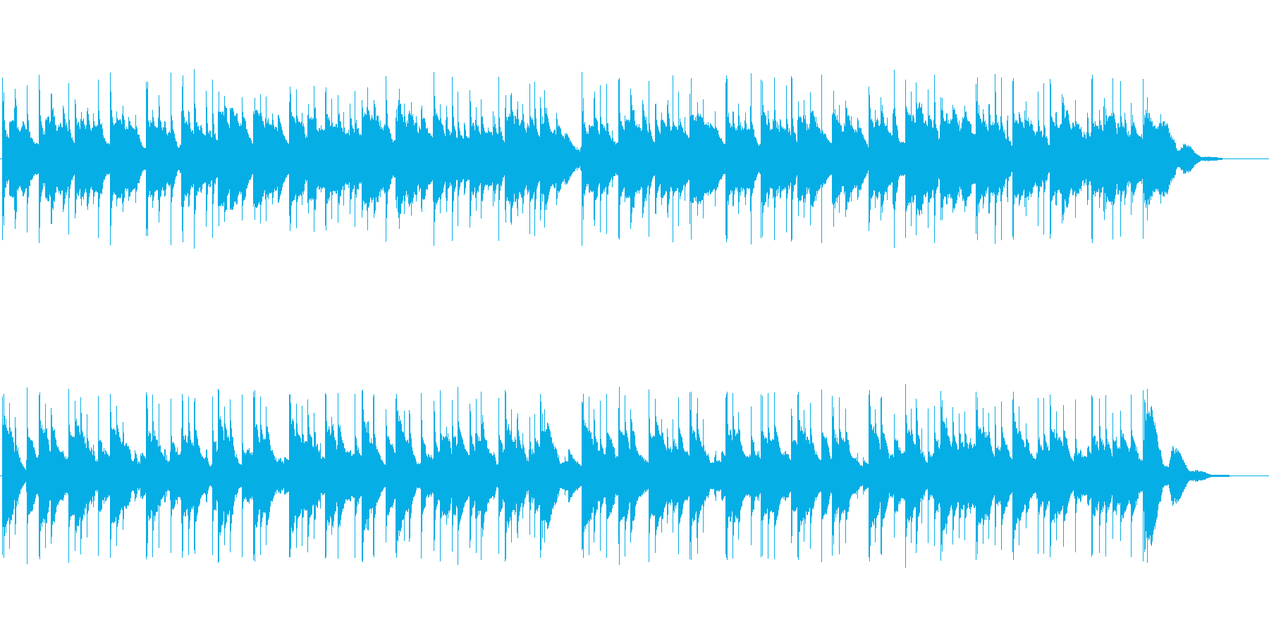 [オルゴール]幸せのワルツほのぼの可愛いの再生済みの波形