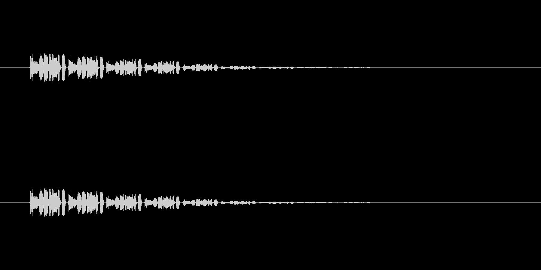 【アクセント31-5】の未再生の波形