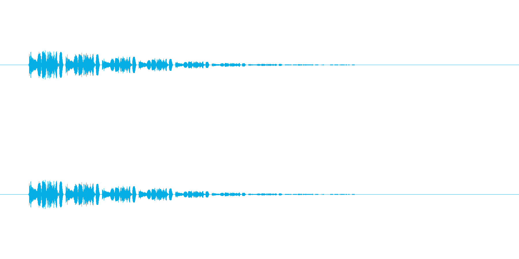 【アクセント31-5】の再生済みの波形