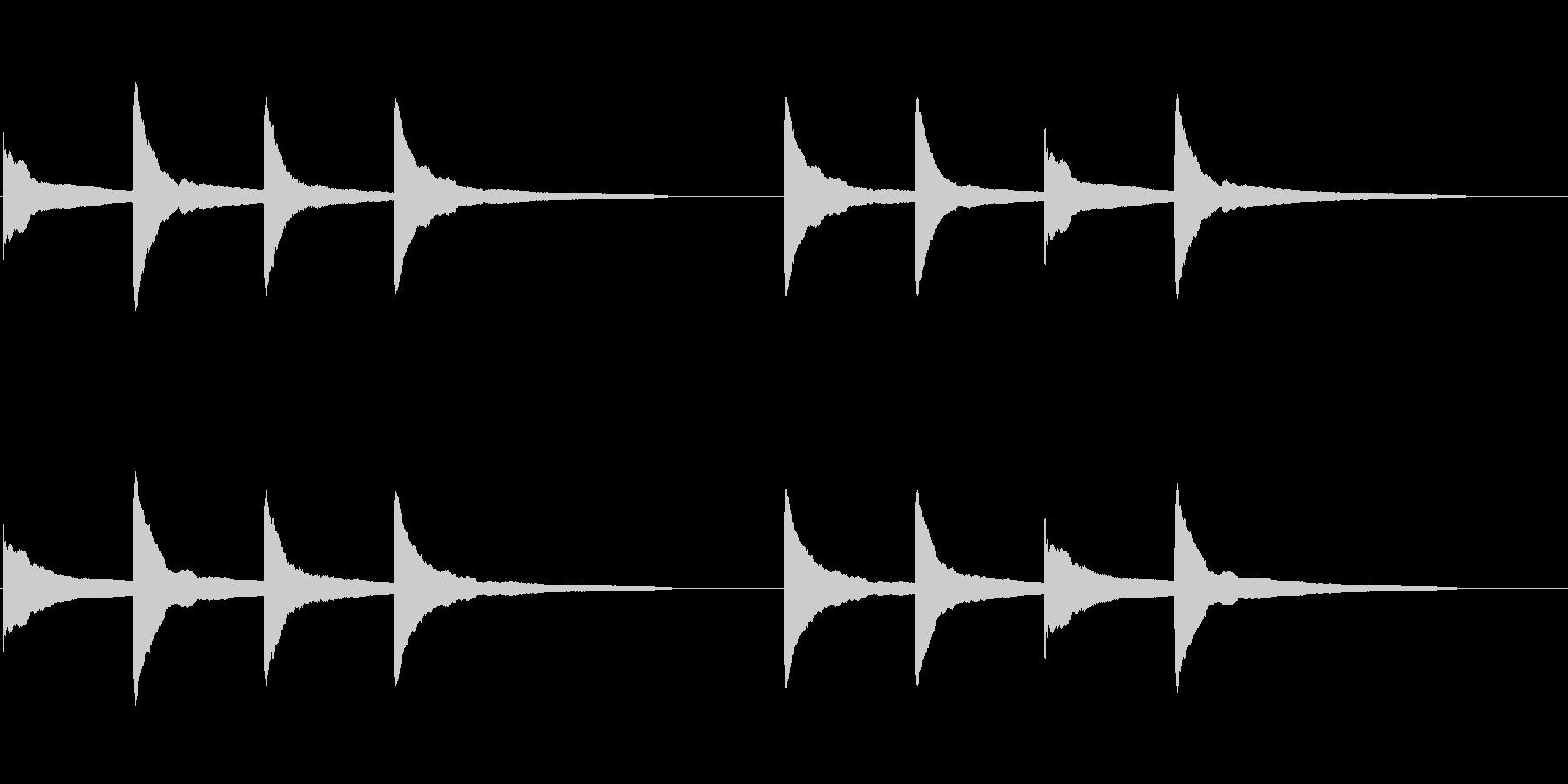 ピンポンパンポン (5) の未再生の波形