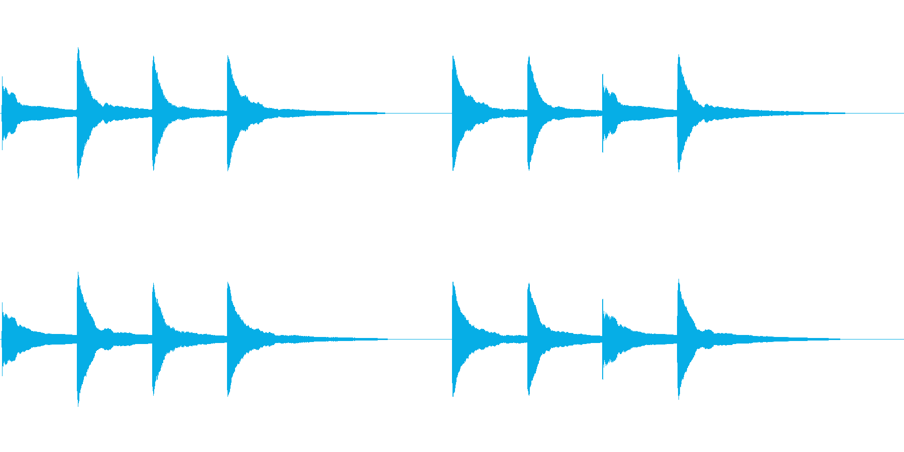 ピンポンパンポン (5) の再生済みの波形