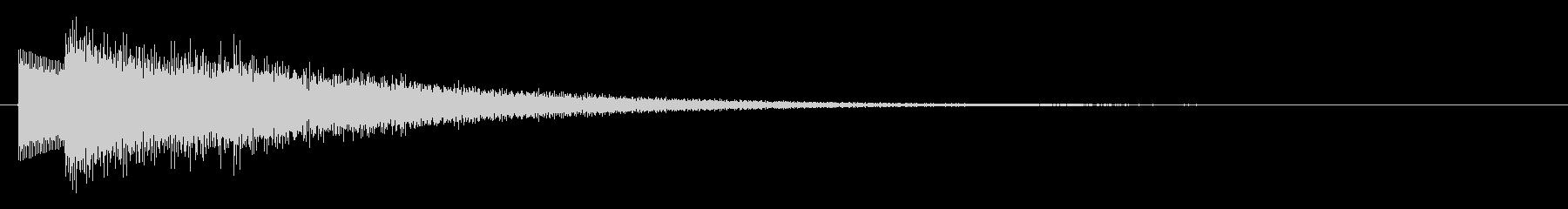 キラキラ/上昇系/回復/バフの未再生の波形