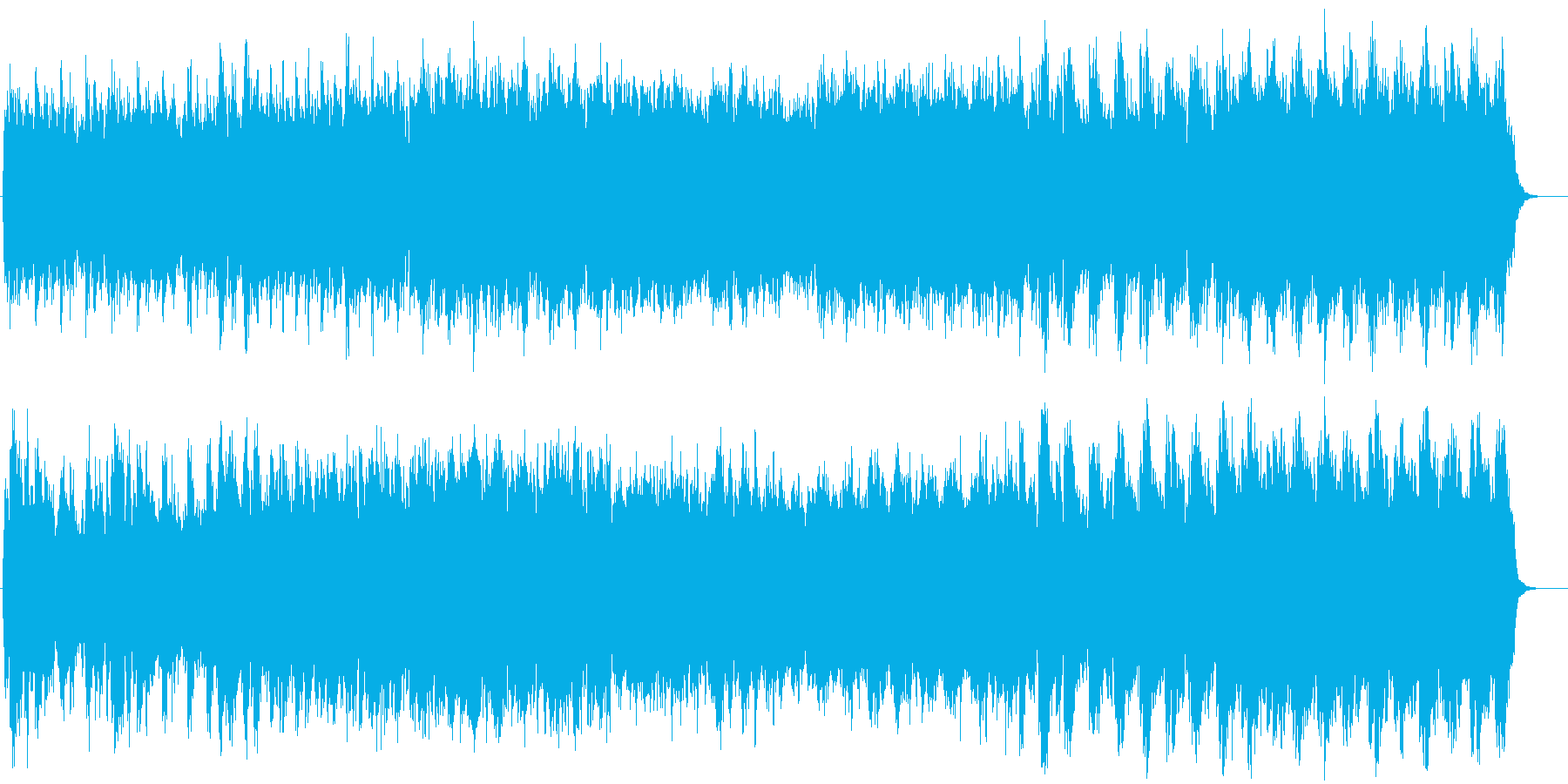 東洋と西洋をミックスしたような幻想曲の再生済みの波形
