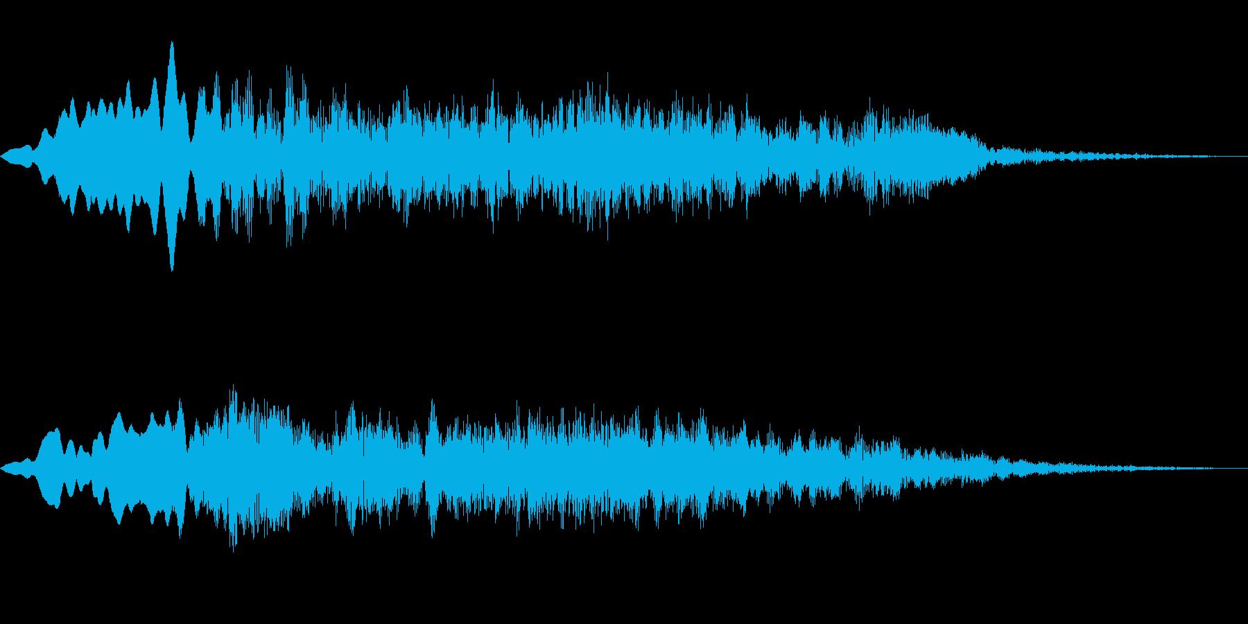 OBAKE 心霊 怪談 肝試し用SE 1の再生済みの波形