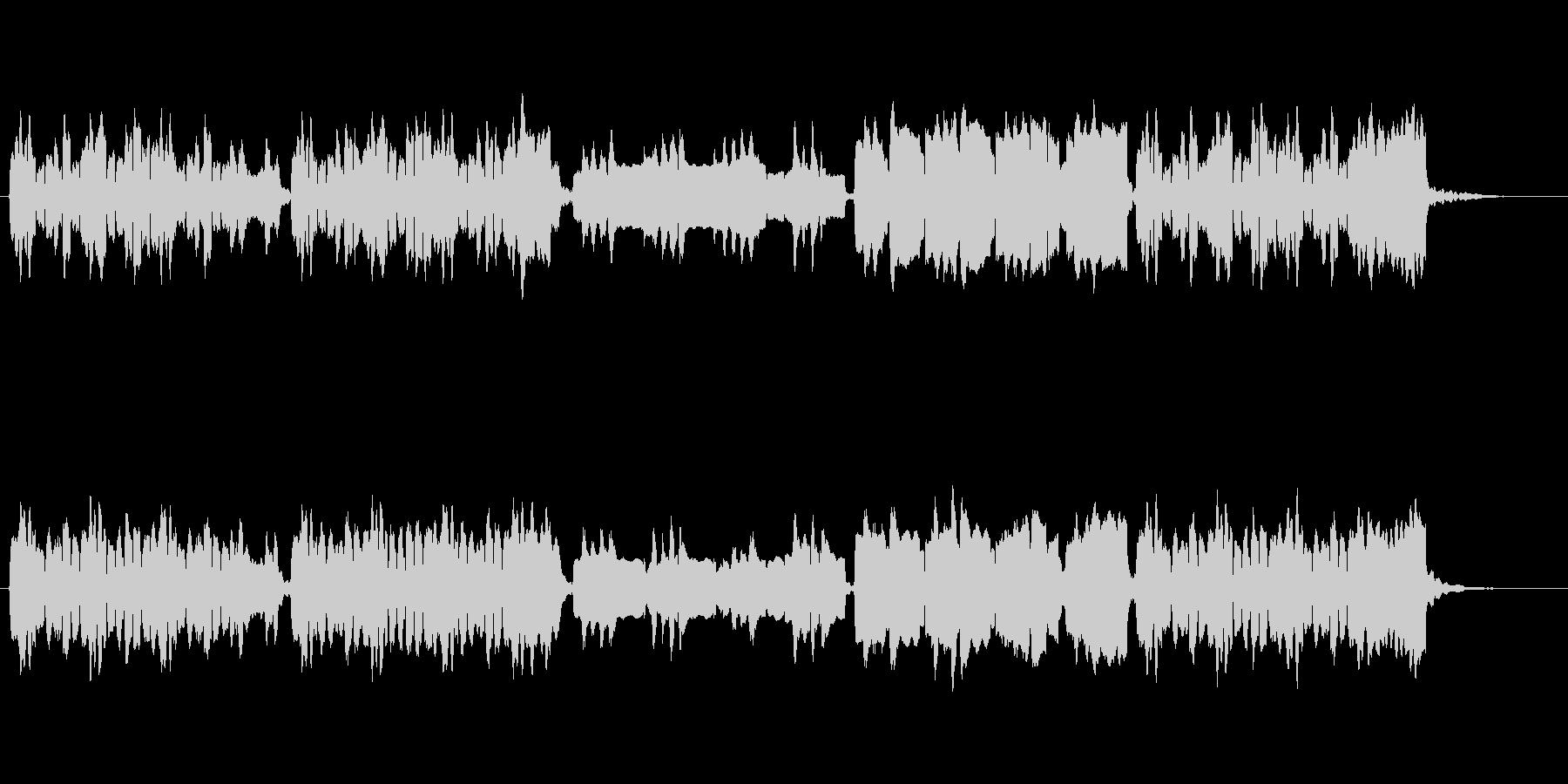 ほのぼの日常/街のシンプルなBGMの未再生の波形