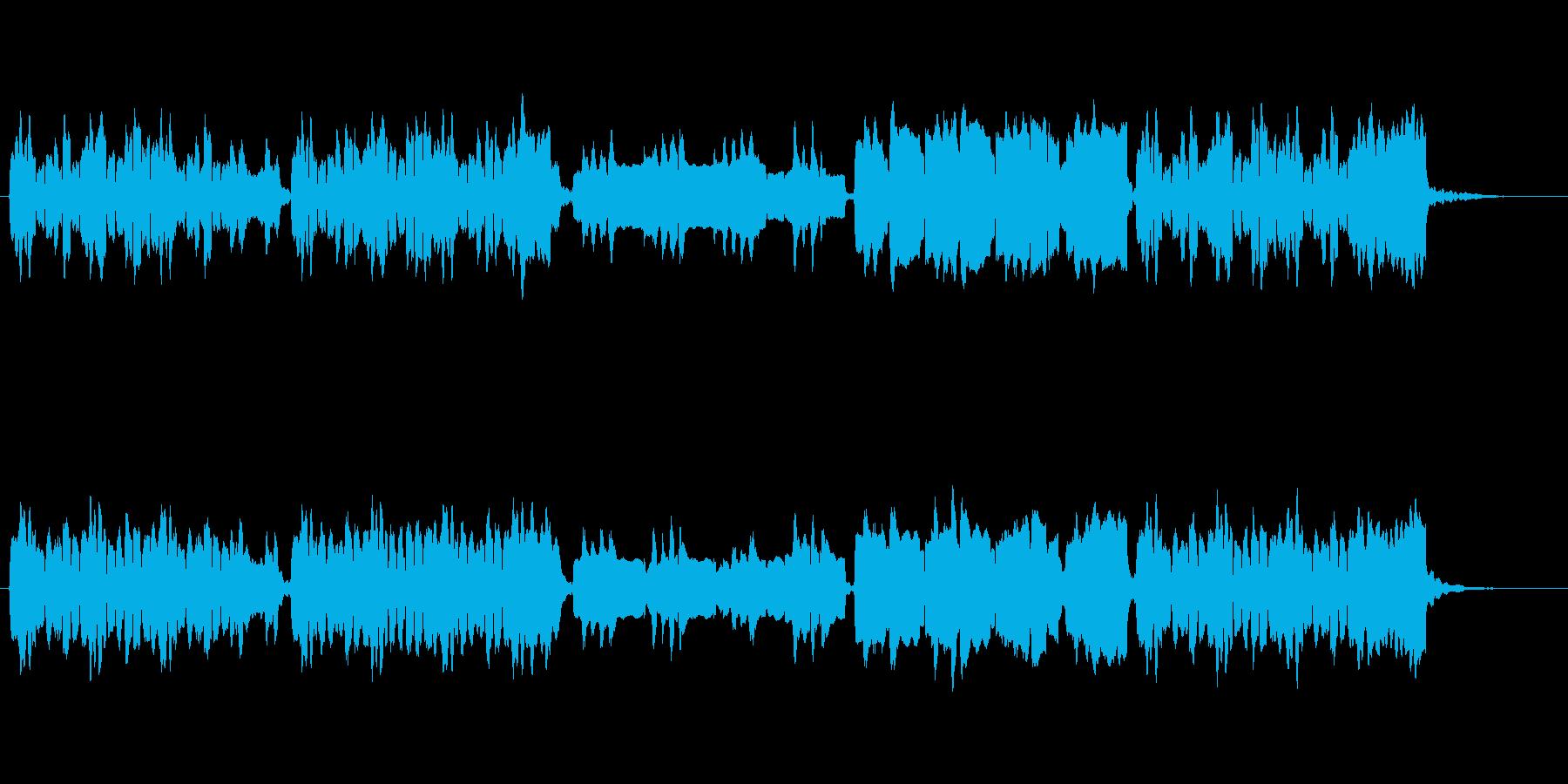 ほのぼの日常/街のシンプルなBGMの再生済みの波形