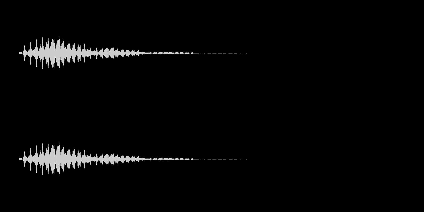 【ショートブリッジ12-5】の未再生の波形