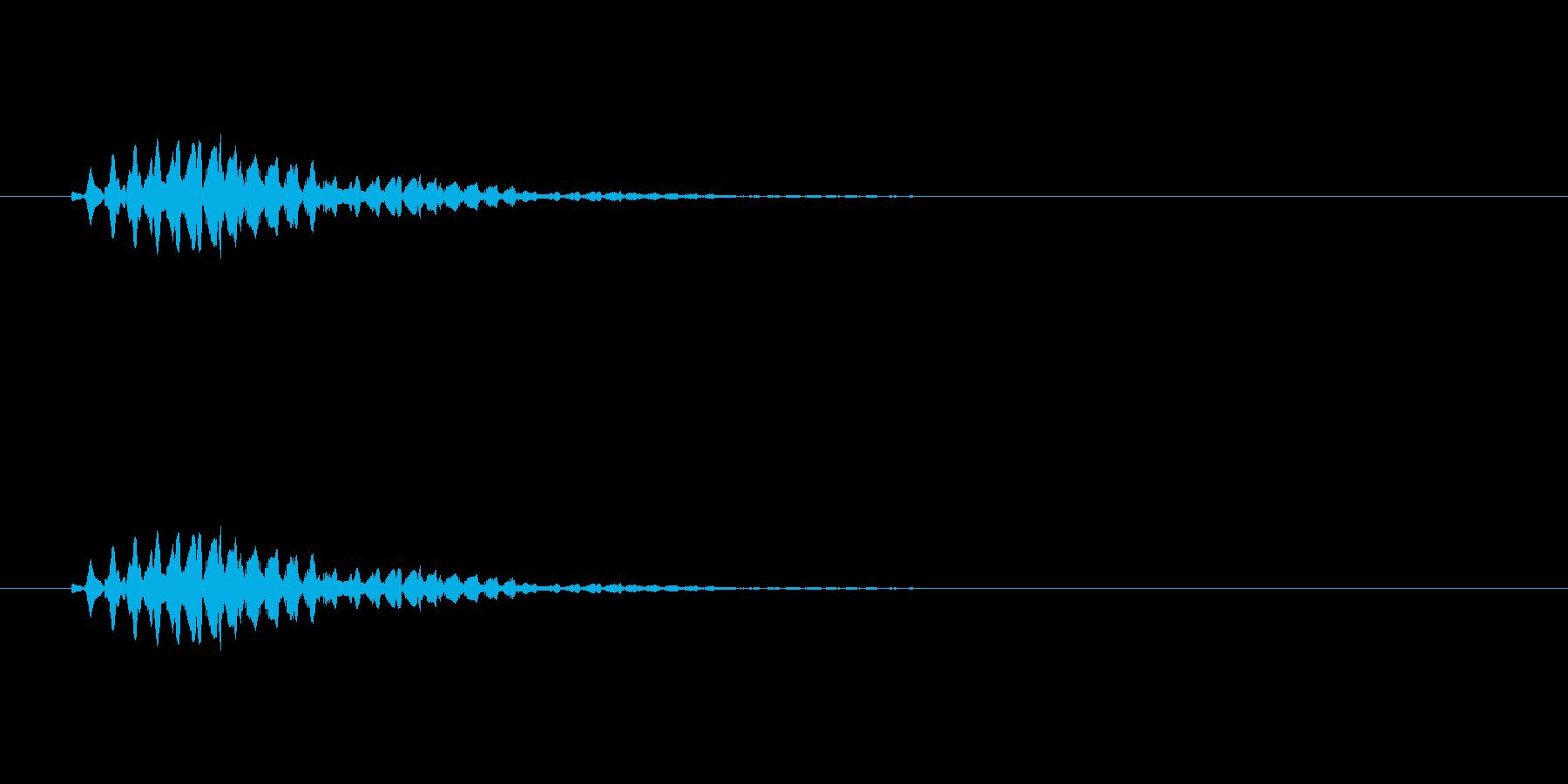【ショートブリッジ12-5】の再生済みの波形