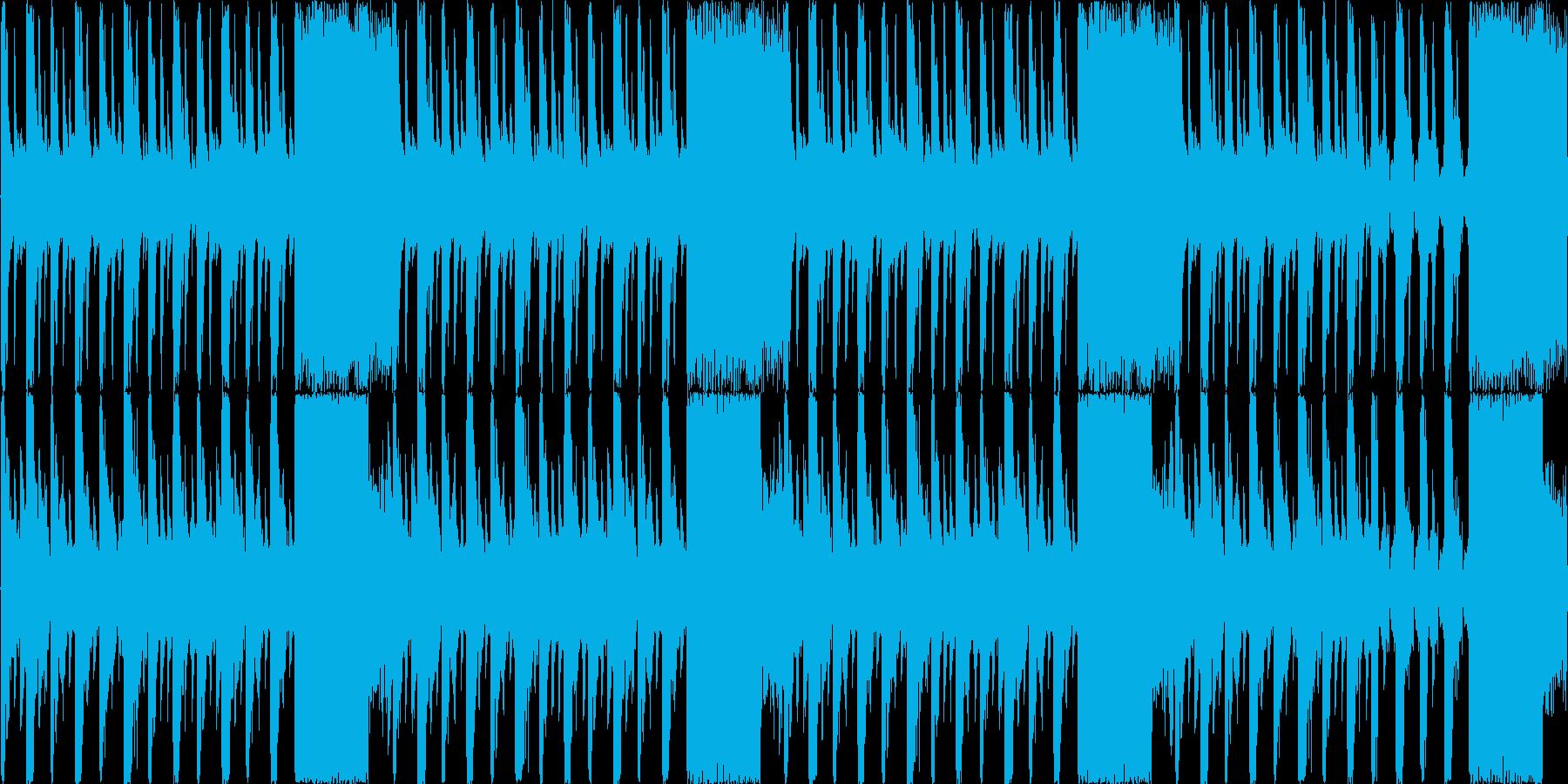 【シンセ/エレクトロニカ/TRAP】の再生済みの波形