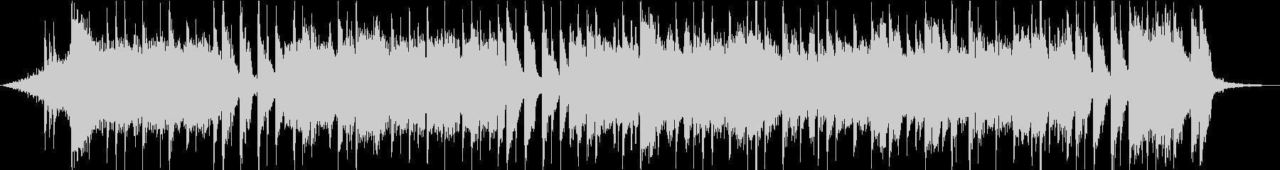 30秒のライトポップなピアノストリングスの未再生の波形