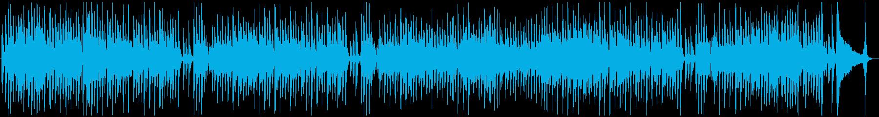 軽快なリズムの中の臨場感の再生済みの波形