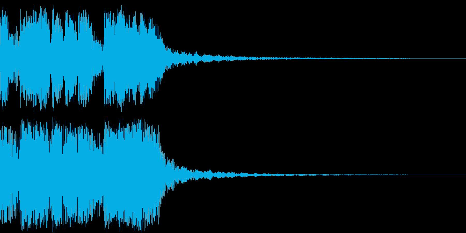 ファンファーレ 当たり 正解 合格 10の再生済みの波形