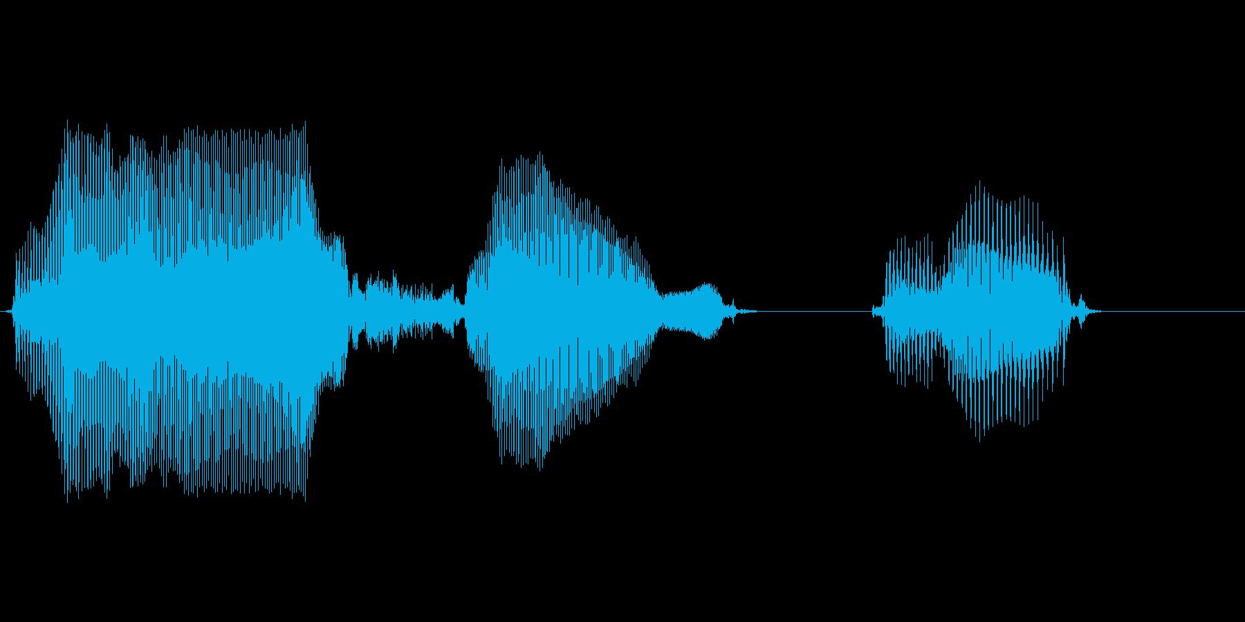 パーセントの再生済みの波形