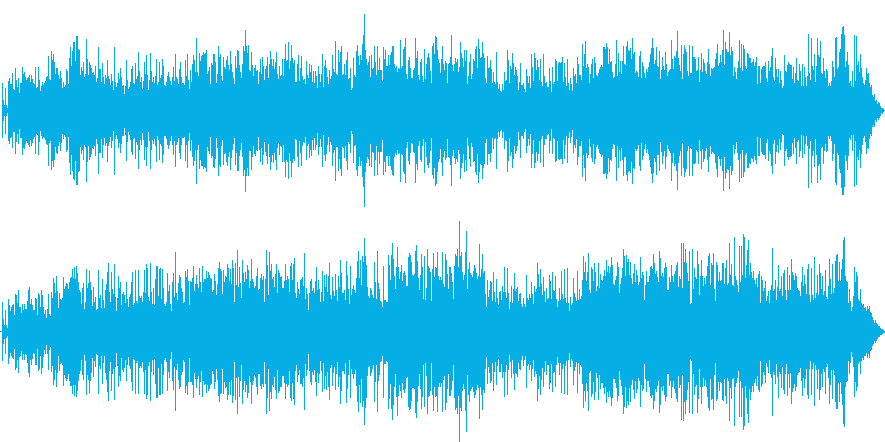 和の再生済みの波形