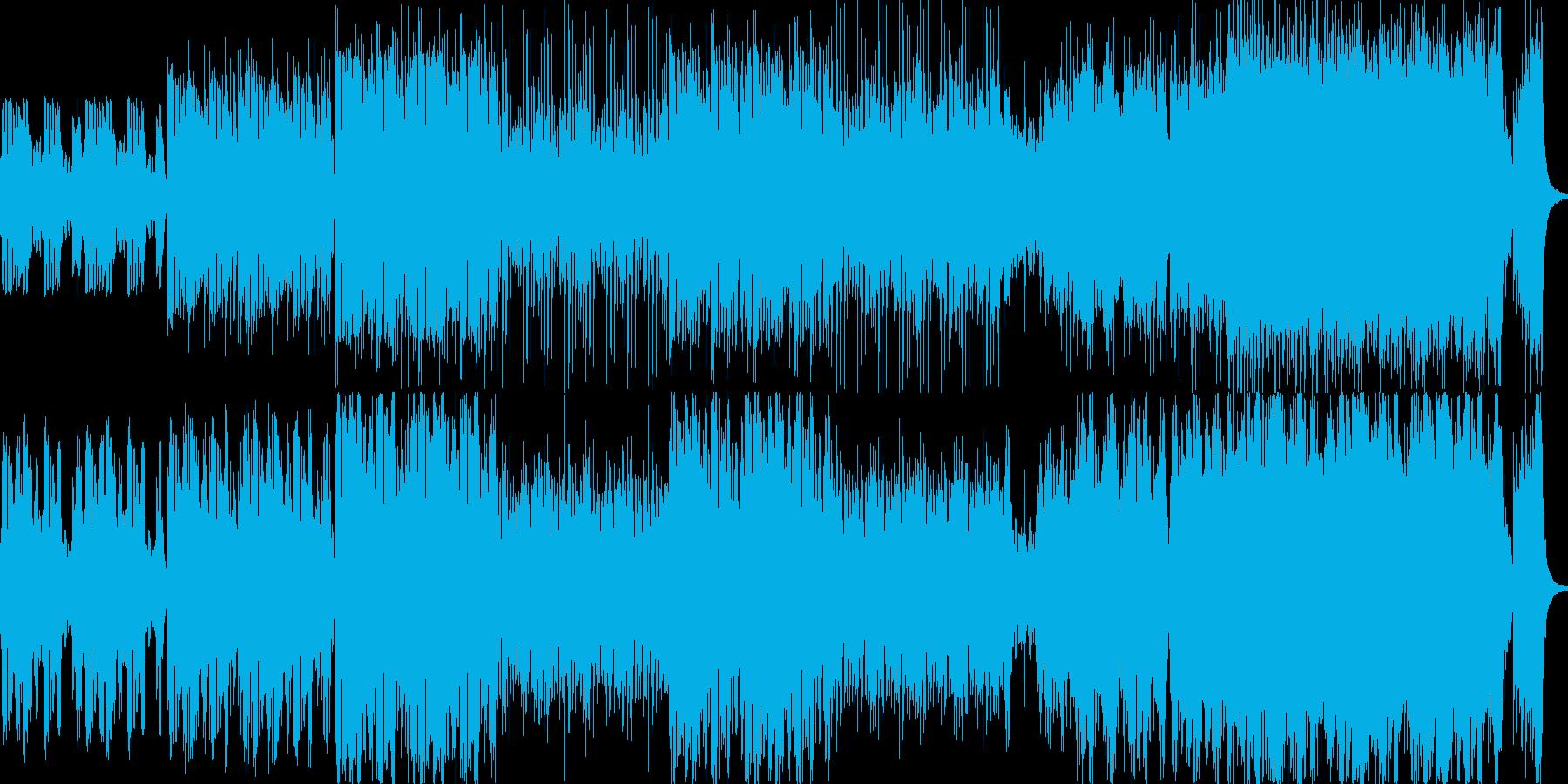 アジア圏またはケルトの音楽をイメージし…の再生済みの波形