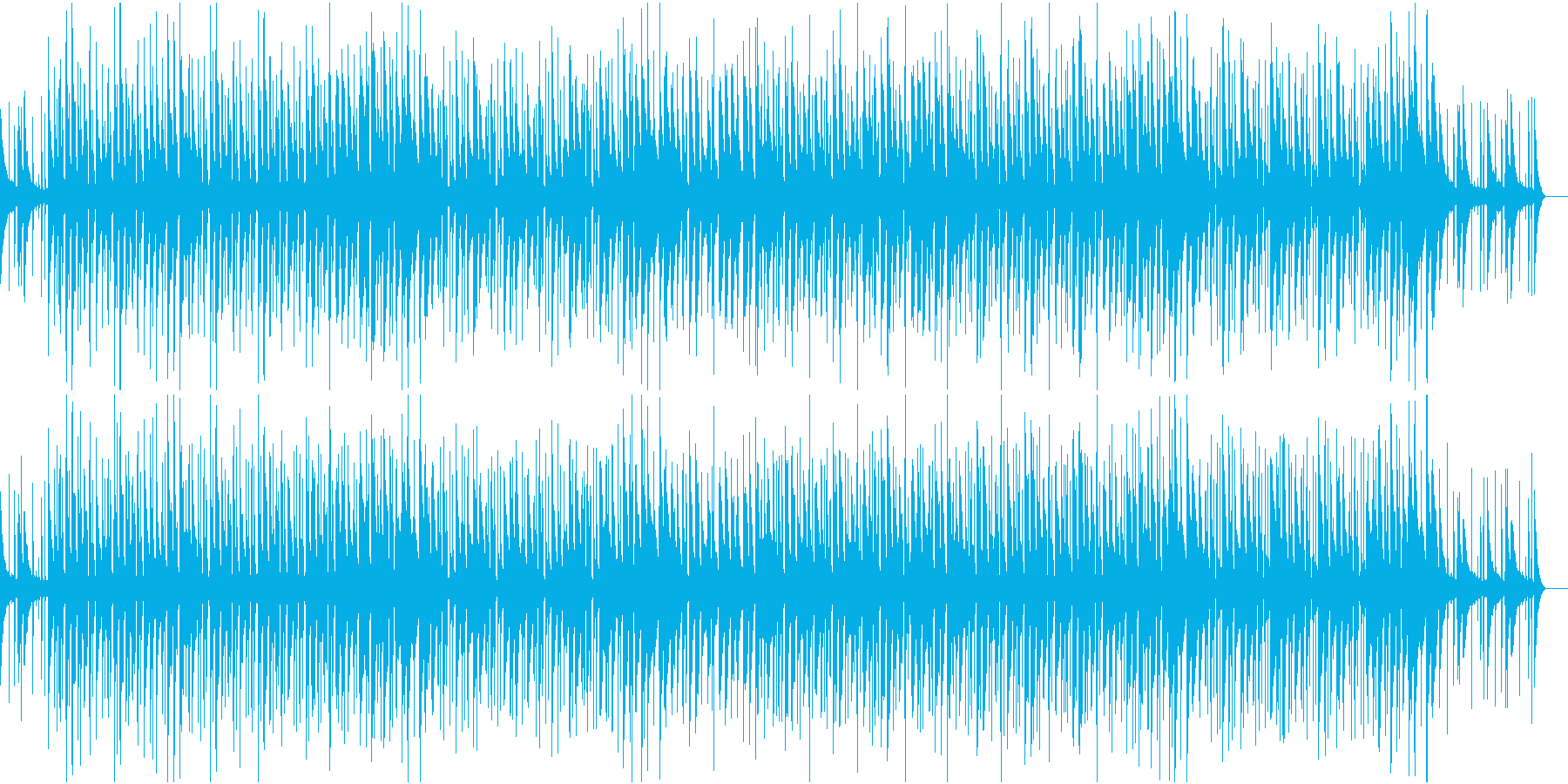 都会的で洗練されたジャズの再生済みの波形
