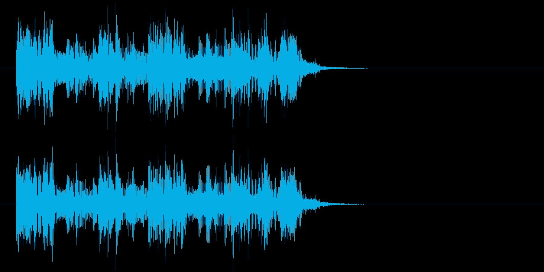 ファンキージングルの再生済みの波形