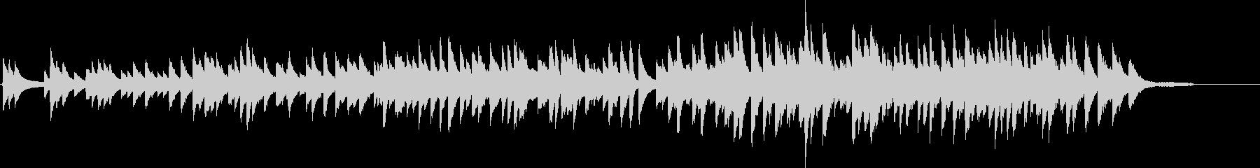切ないピアノインストの未再生の波形
