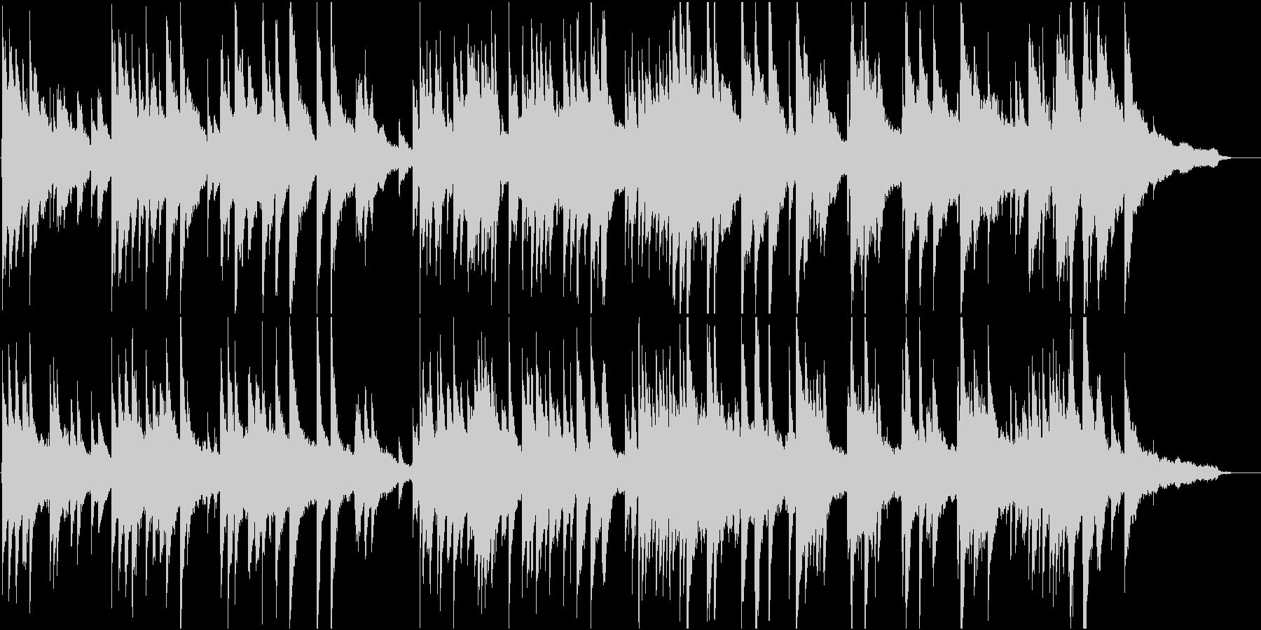 優雅で切ない感じのピアノ・ソロ楽曲ですの未再生の波形