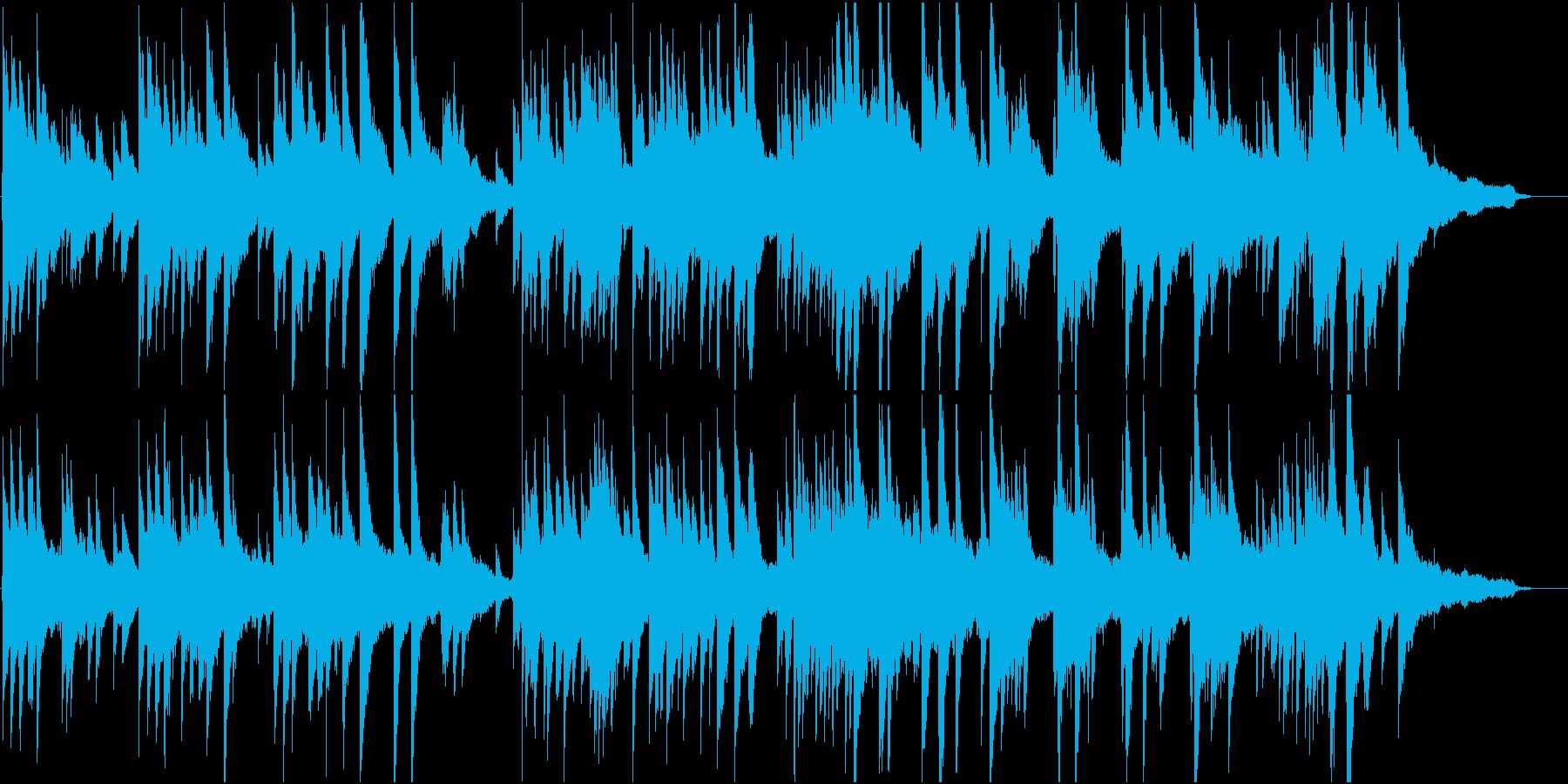 優雅で切ない感じのピアノ・ソロ楽曲ですの再生済みの波形