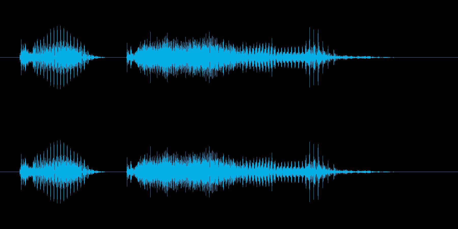 「徳島」都道府県 - 男性の再生済みの波形