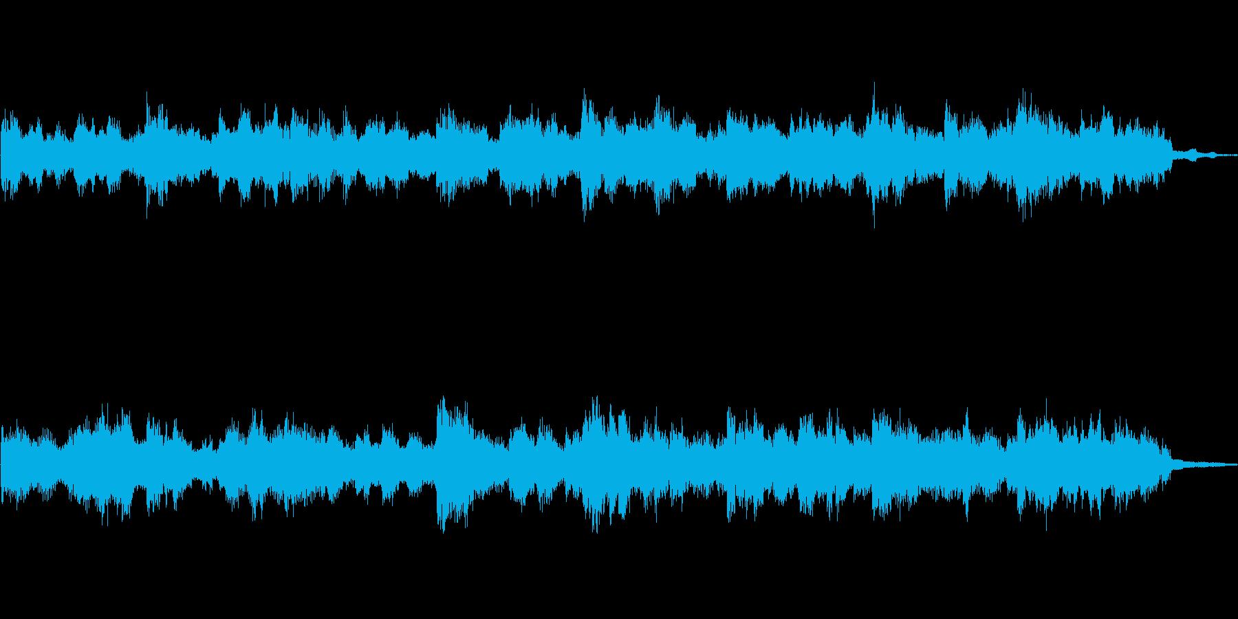 Soundtrack 2の再生済みの波形