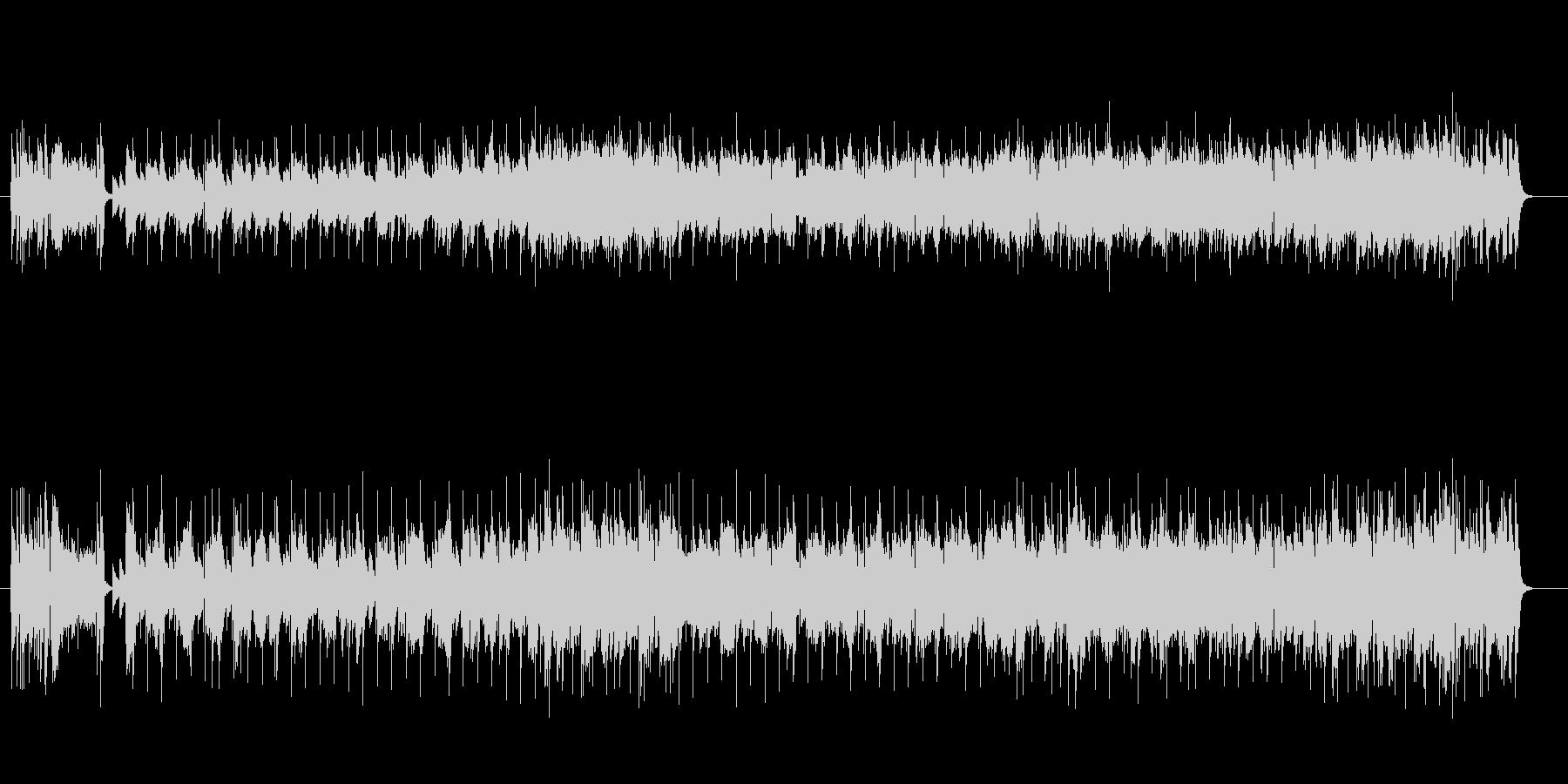 ピアノが美しいサンバ風フュージョンの未再生の波形