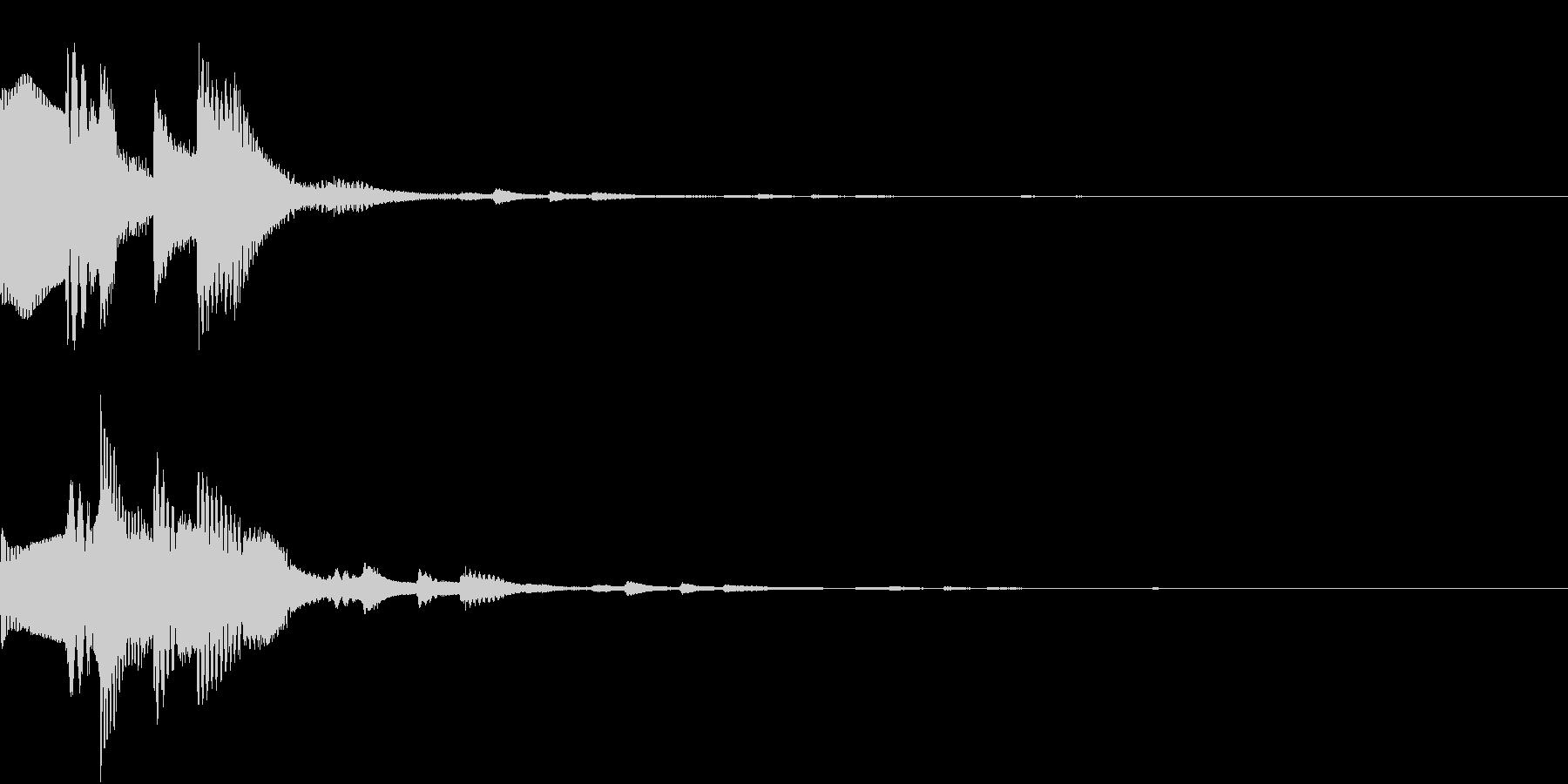 GameSFX ゲーム内の効果音 1の未再生の波形