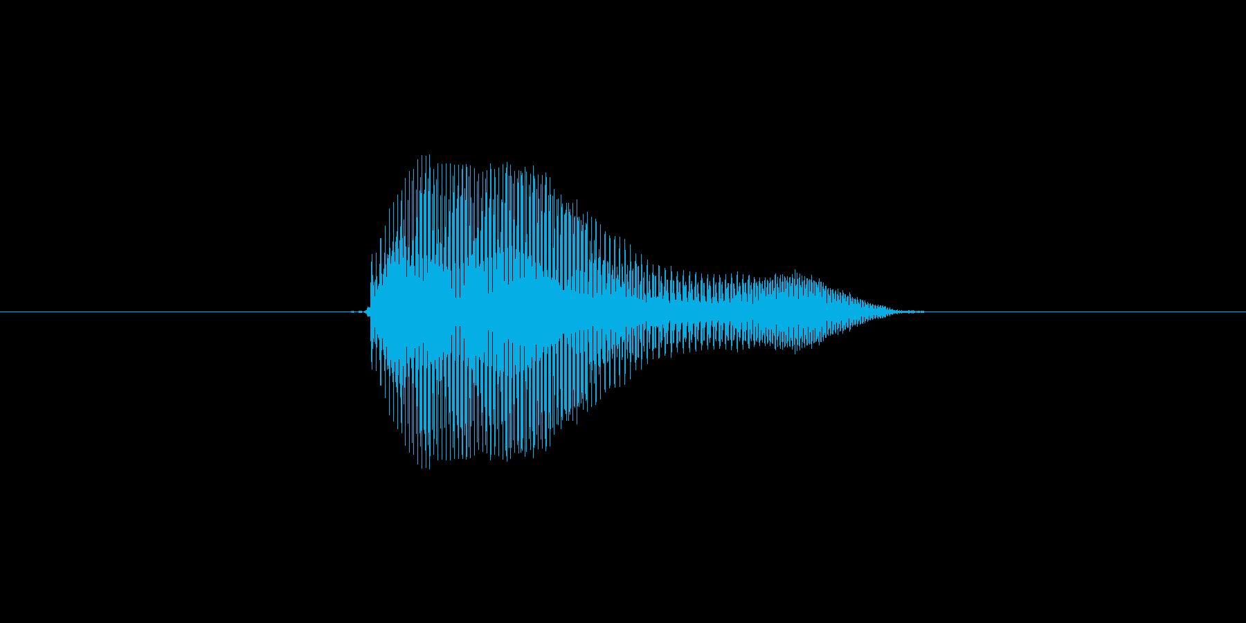 ううんの再生済みの波形