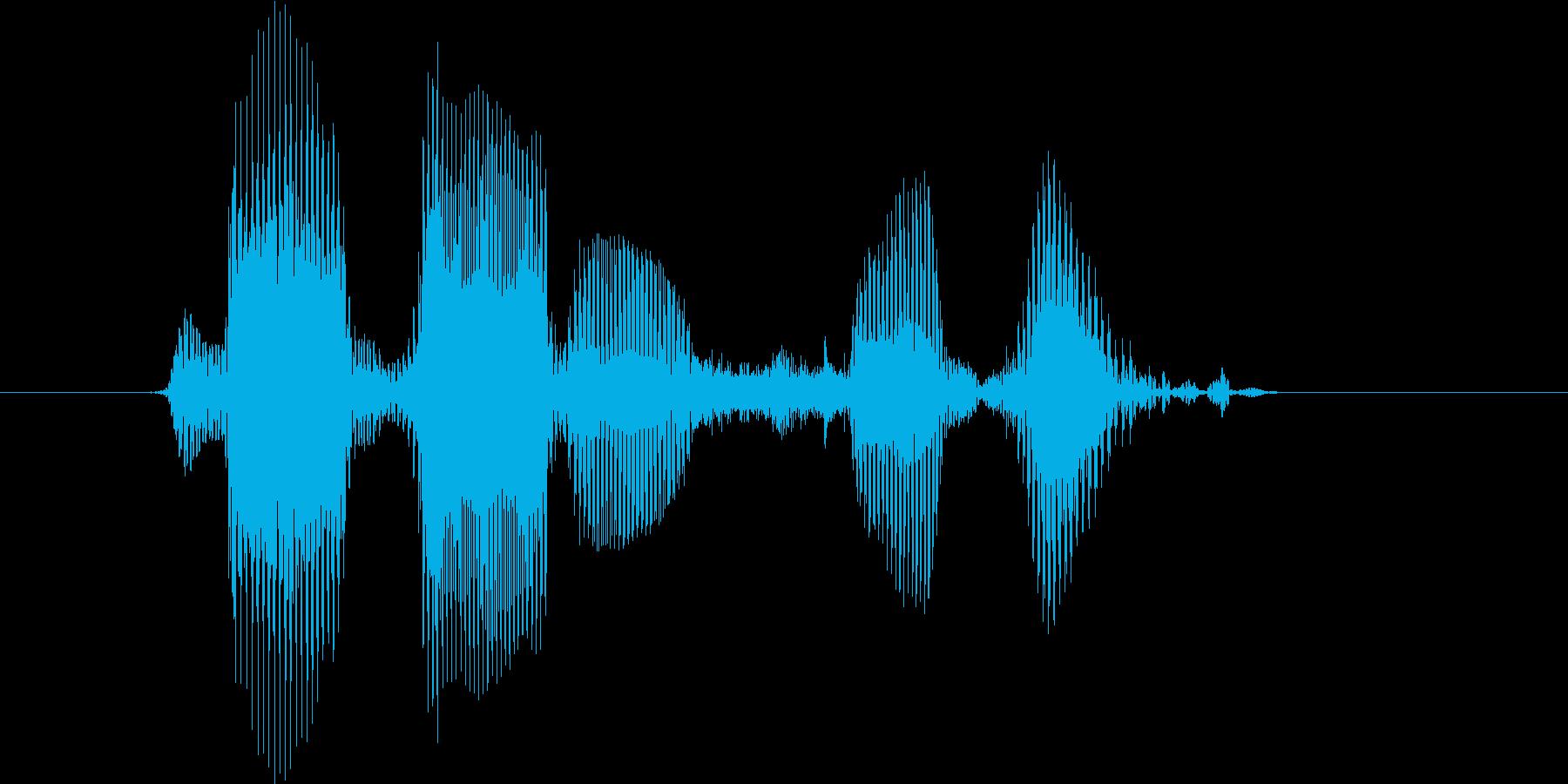 レベル7(せぶん)の再生済みの波形