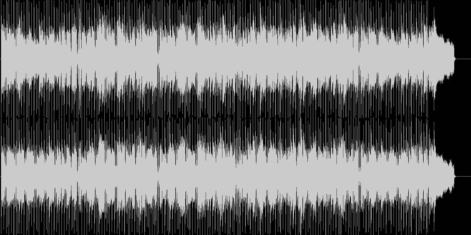 育成等に使えるほのぼの日常系ポップスの未再生の波形