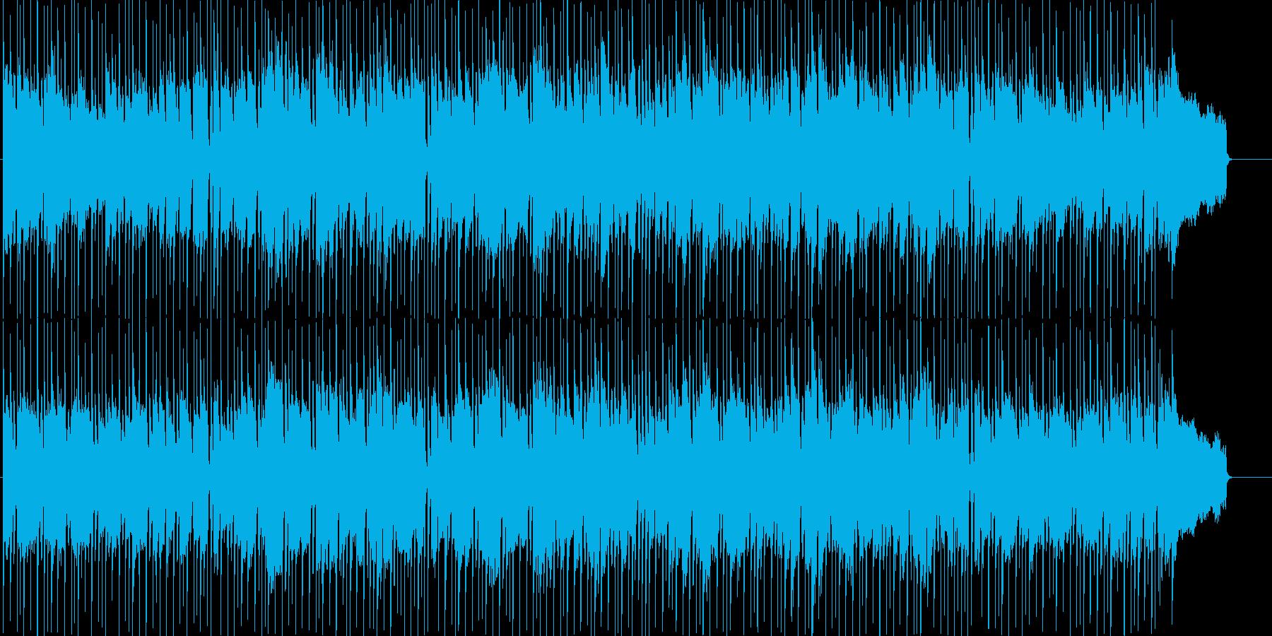 育成等に使えるほのぼの日常系ポップスの再生済みの波形