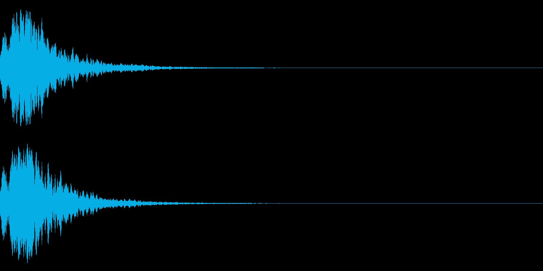 シャキーン☆魔法、星、光などに最適5CVの再生済みの波形
