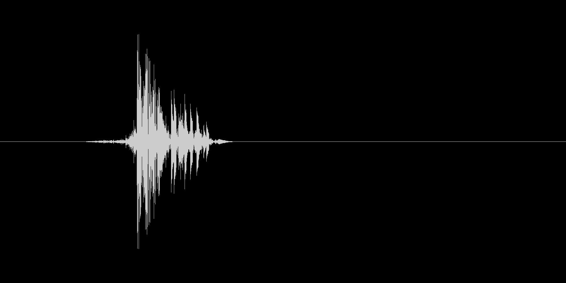 ゲーム(ファミコン風)ヒット音_046の未再生の波形