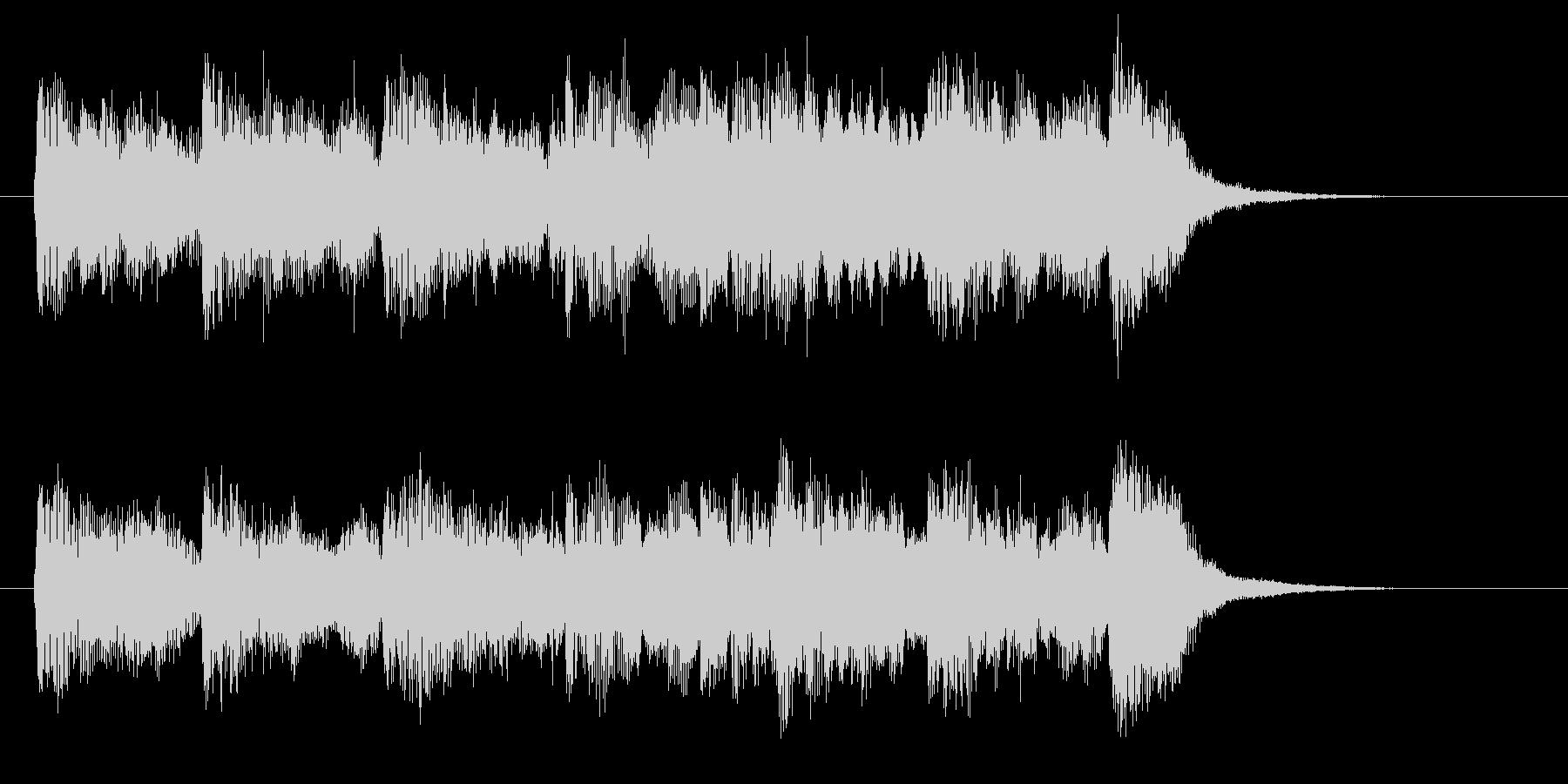 ビブラフォンの音が幻想的なバラードの未再生の波形