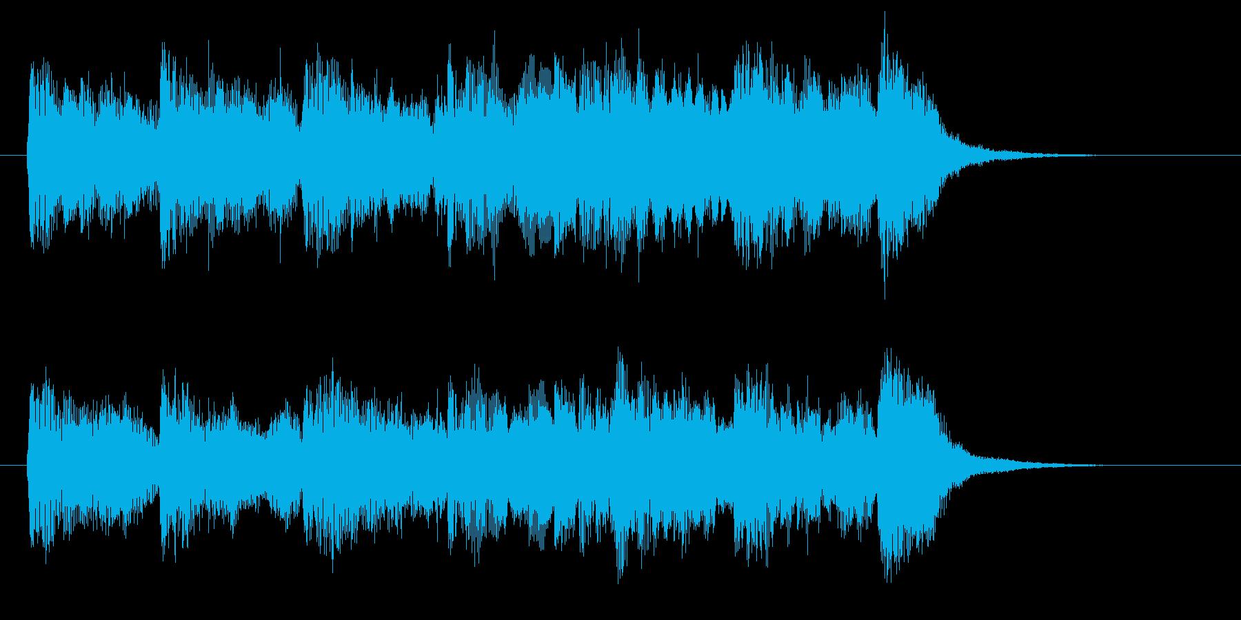 ビブラフォンの音が幻想的なバラードの再生済みの波形