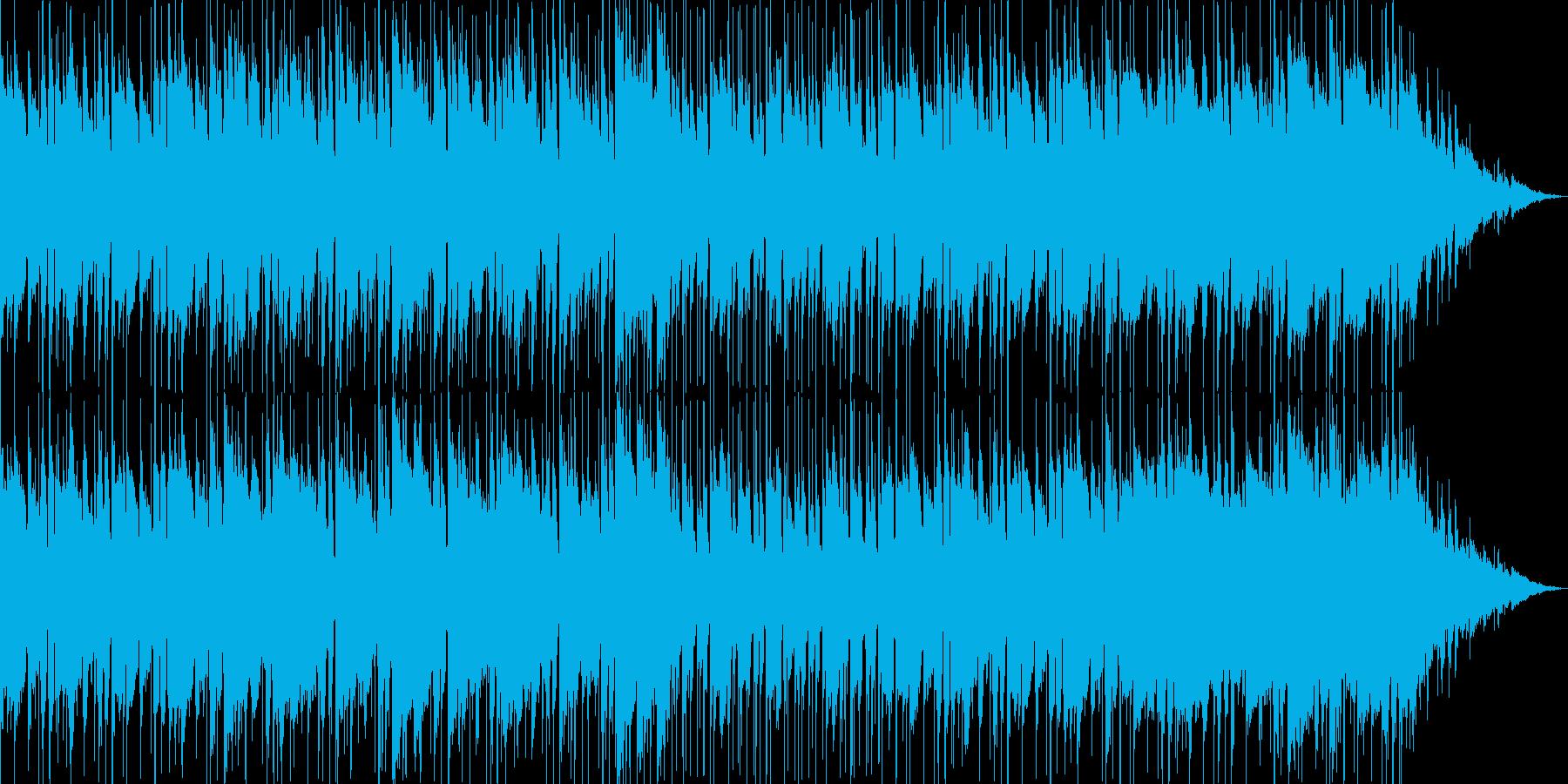 哀愁のギターアンサンブルの再生済みの波形