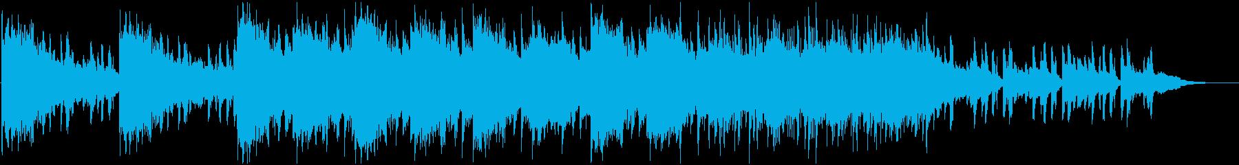 不穏でダーティーなBGMの再生済みの波形