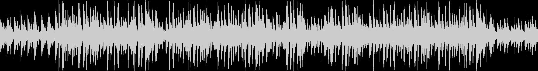 ほのぼの・メルヘン・マリンバの未再生の波形
