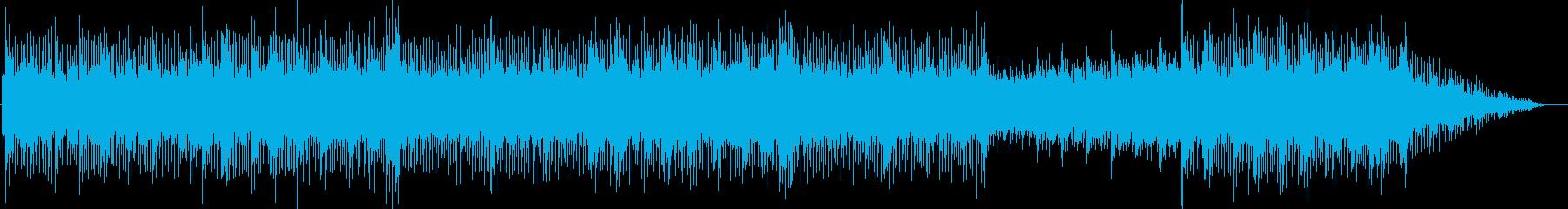 軽快な曲です。の再生済みの波形