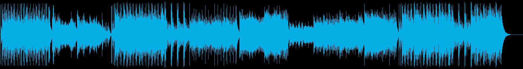 現代的にアレンジされた和楽器による邦楽の再生済みの波形