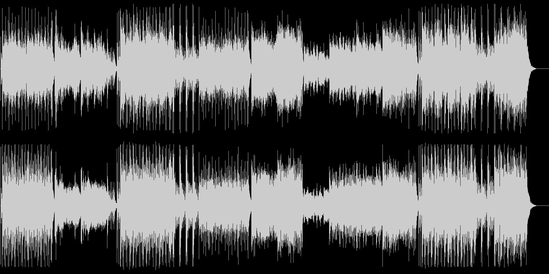 現代的にアレンジされた和楽器による邦楽の未再生の波形